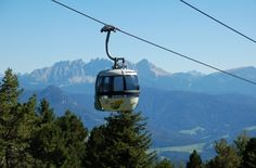 Bolzano, Italy cable car. The ultimate in public transportation...in the Alps!