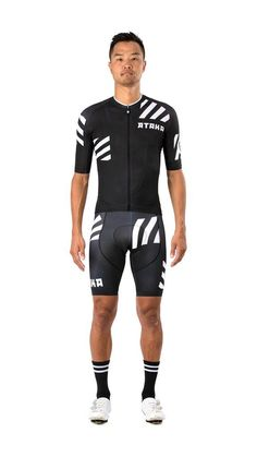 Everybody thinks about proper clothing when it comes to bike trips, cycle gear is just as important for the proper and comfortable development of your tour. Bike Wear, Cycling Wear, Cycling Jerseys, Cycling Clothing, Cycling Outfits, Women's Cycling, Lycra Men, Bike Kit, Bike Style