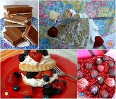 Desserts for Mother's Day