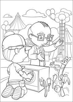 Handy Manny Tegninger til Farvelægning. Printbare Farvelægning for børn. Tegninger til udskriv og farve nº 17