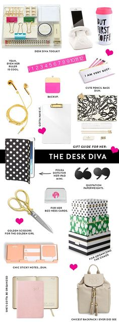 katespade#@$39 on | Cute Office Desk Accessories | Desk Drawer Organizer | How To Organize Your Desk Drawers | Office Desk Organization At Work. #homeinspiration #office space Kate Spade Desk Accessories, Ipad Air Accessories, Cubicle Accessories, Bedroom Accessories, Cool Desk Accessories, Desktop Accessories, Cute Desk Organization, Organizing Office Supplies, Kate Spade Office Supplies