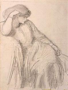 Pre Raphaelite Art: Search results for Cat Dante Gabriel Rossetti, William Morris, Pre Raphaelite Brotherhood, Edward Burne Jones, Knight Art, Classical Art, Woman Painting, Portrait, Art Drawings