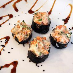 Sushis especiais é na @sharibrasil  experimente!!! #sushifortaleza #fortalezace #tigrado #tataki #sashimi by sharibrasil