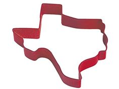 CybrTrayd RandM Texas Durable Cookie Cutter, 3.5-Inch, Red, Bulk Lot of 12 -- More forbidden discounts at the link of image : Baking Accessories