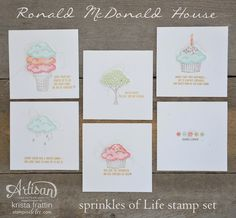 Ronald McDonald House quick and cute cards
