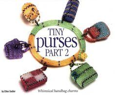 Bracelet with Tiny handbags  By Svetlana (in Russian)  SO CUTE!!
