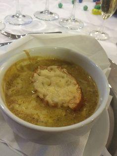 Recipe Zwiebel- Lauch- Suppe mit Safran