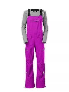 The North Face Free Thinker Snow Ski Board Bib Pants Magenta Size XS MSRP $499  | eBay