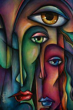 43 Cubism Art Movement Painting Work I Indian Art Paintings, Modern Art Paintings, Tableau Pop Art, Art Visage, Abstract Face Art, Cubism Art, Arte Pop, African Art, Art Drawings