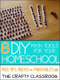 DIY Homeschool: Math Tools