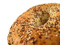 You can have it all with our everything bagel!  Come to Bagels and Bites Cafe in Brighton, MI for all of your bagel and coffee needs! Feel free to call (810) 220-2333 or visit our website www.bagelsandbites.com for more information!