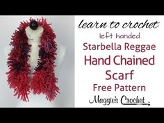 Double Hand Chaining Starbella Reggae Scarf - Left Handed - YouTube