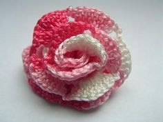 ROSA ALL'UNCINETTO Projects To Try, Knitting, Crochet, Flowers, Facebook, Google, Pink, Tejidos, Tricot