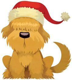 New Post christmas puppy clip art Christmas Puppy, Christmas Hat, Christmas Animals, Vintage Christmas, Merry Christmas, Vintage Winter, Christmas Images, Christmas Ideas, 2 Clipart