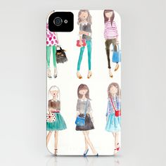 Collage iPhone Case by Sophie & Lili