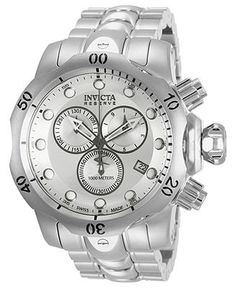 Invicta Watch, Men's Swiss Chronograph Reserve Venom Stainless Steel Bracelet 54mm 5730