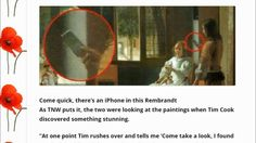 "iPhone in 1670 ""Rembrandt"" Painting"