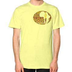 Kente T-Shirt (on man)