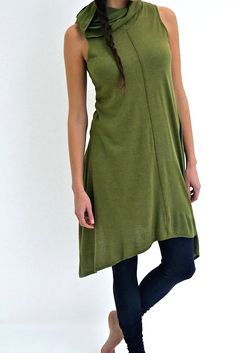 Loose Fit Baggy Winter Sweater Long Dress from GYFashionClothing ...