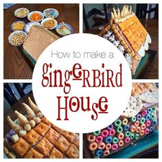 Dishfunctional Designs: How To Make A GingerBIRD House