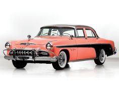 1955 DeSoto Fireflite Four-Door Sedan Vintage Cars, Antique Cars, Desoto Cars, Auctions America, Dodge Vehicles, Classy Cars, Car Colors, Us Cars, Collector Cars