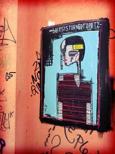 ALO street art print London Shoreditch graffitti by DJArtwork