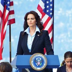 The President of the United States I'm most excited to see this fall. Lynda Carter on Supergirl.