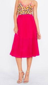 Divide Pleated Skirt*