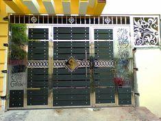 New Gate Design, Door Gate Design, House Gate Design, Steel Grill Design, Steel Gate Design, Stainless Steel Gate, Metal Doors, Entrance Doors, Gates