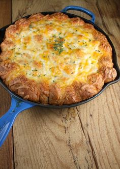 Cheesy Sausage Pull Apart Breakfast Bake - Perfect for family holidays!  from missinthekitchen.com -- Try this recipe with your favorite Johnsonville Italian Sausage.