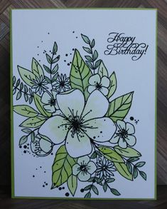 F4A365 Lot's of Green by hdp - Cards and Paper Crafts at Splitcoaststampers