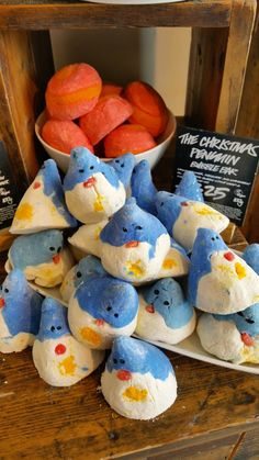 The Beautiful Bluebird: Christmas Time at Lush - Butterbears & Snow Fairies