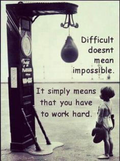 Motivation #difficulty #strength quotes