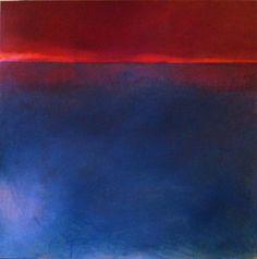 Gabriella Moussette - Art Abstrait Huile sur toile 100/100cm.