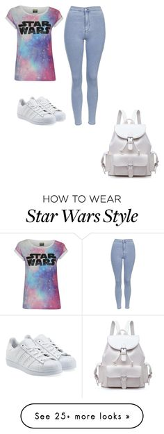 """Untitled #262"" by efratcahana on Polyvore featuring Topshop and adidas Originals"