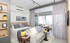 Decoração de apartamento pequeno:  soluções em apenas 33 m²