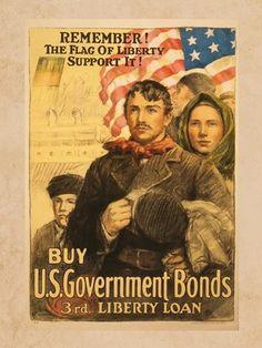 Framed Flag of Liberty Print-$16.79