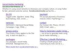 Search us on #Google and this will appear. =)