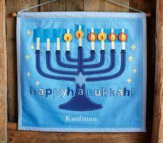 Hanukkah countdown calendar from PB. Very cute but pricey. Potential DIY?