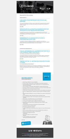 Noticias de Emprendimiento/ UP Euskadi (06 al 12 de noviembre 2017) 16/11/2017