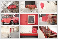 cute red postcards by little brown pen #postcards #photography #cities