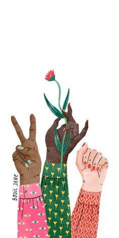 #Peace #Flower. #Casetify #iPhone #Art #Design #Illustration