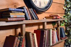 古いハシゴを壁に貼り付けた本棚に飾るアンティーク洋書|デコラティブブックス専門洋書通販 Gossa Books Wall Shelves, Shelf, Bookcase, Wall Decor, Ladders, Home Decor, Room Wall Decor, Homemade Home Decor, Shelves