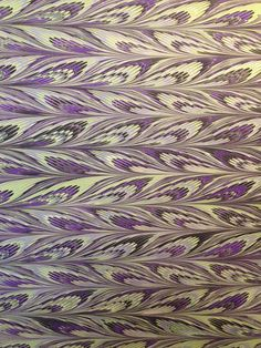 Marbled Paper 18.5 x 25 Feather variation