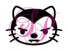 Stencil – Hello Kitty Vampire – Set of 6 | Shimmer Pros