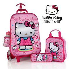 tas anak trolley hello kitty terbaru
