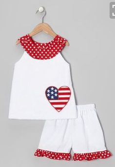 3afa3aee2f3e Take a look at this White Heart Yoke Top   Shorts - Infant