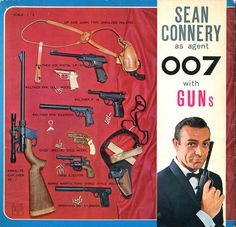 Goldfinger (1964) is the third film in the James Bond series and the third to star Sean Connery as the fictional MI6 agent James Bond. Country: Japan Flexi-Disc with booklet