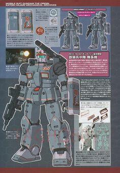 Guncannon First Type (Iron Cavalry Squadron) ガンダム The Origin, Gundam Art, Robot Concept Art, Mecha Anime, Super Robot, Gundam Model, Mass Effect, Mobile Suit, Art Pictures