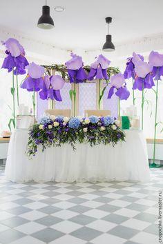 Купить Ирисы-макси из фоамирана - фиолетовый, ирисы, ирисы из фоамирана, фотозона, фото сессия